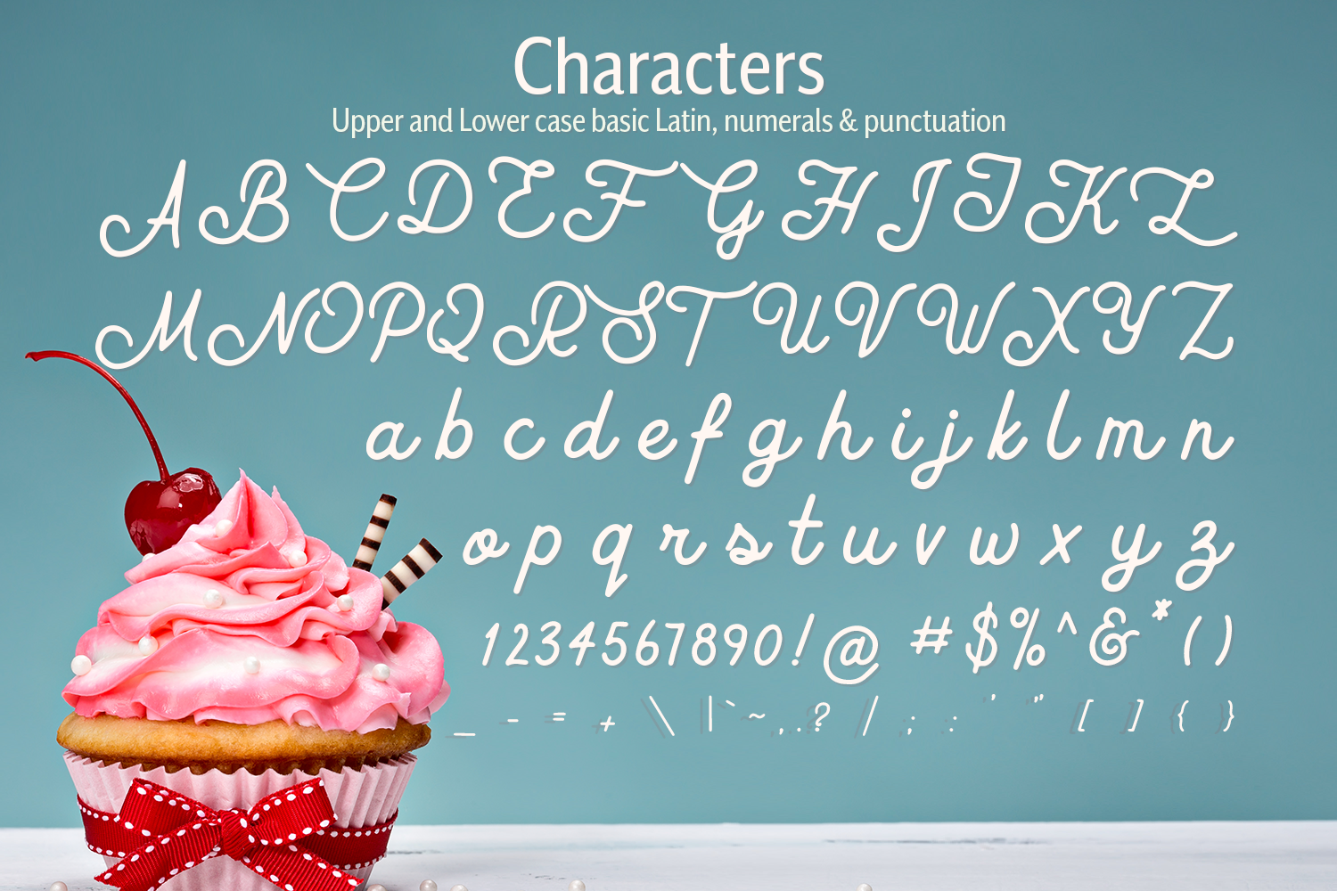 Buttercream Dream - A fancy font duo example image 14