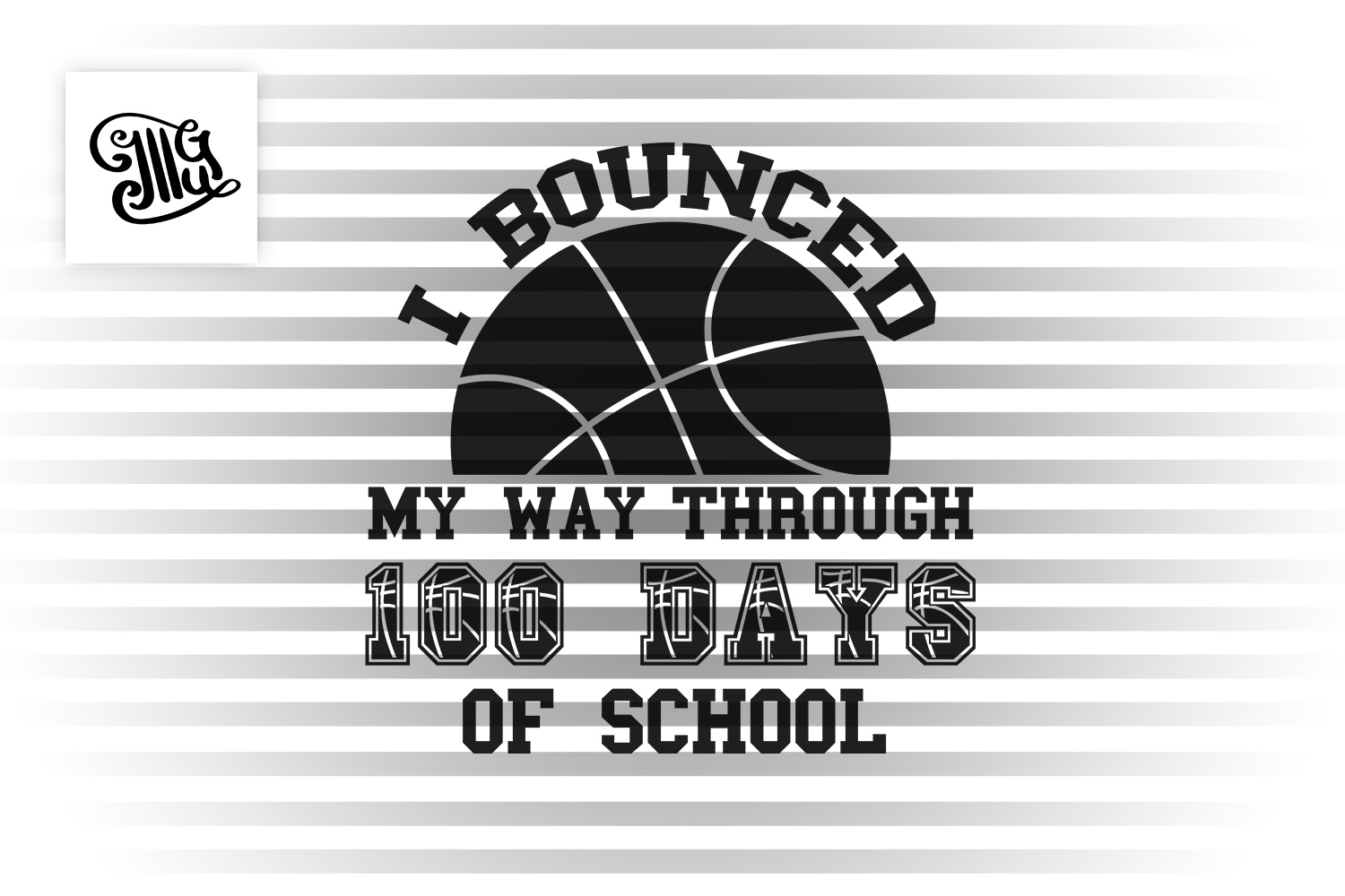 100 Days of school svg example image 2