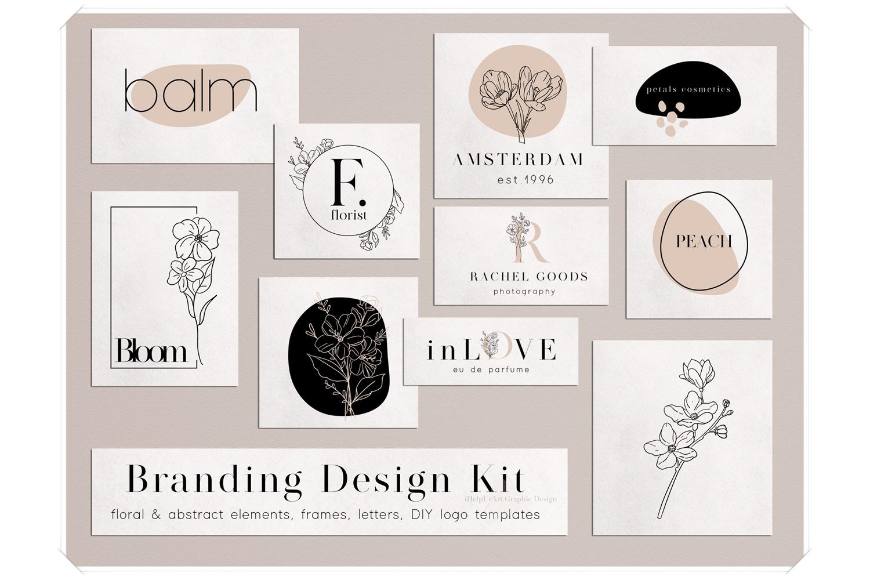 Branding Design Kit - DIY Logo example image 1