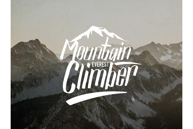 Mountain vector illustrations example image 3