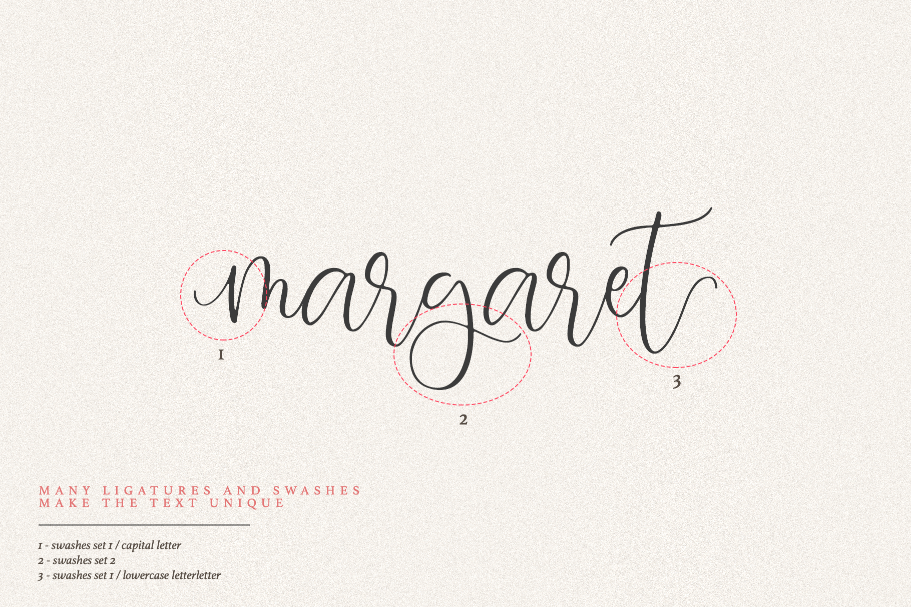 Margaret Calligraphy example image 5