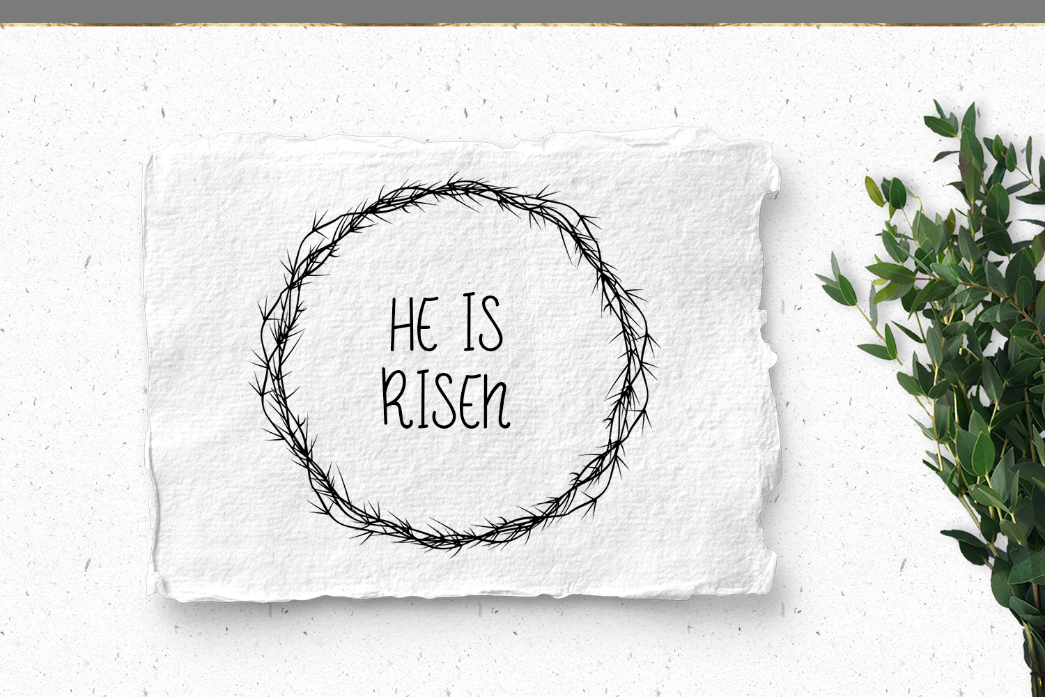 Easter Crown of Thorns example image 4