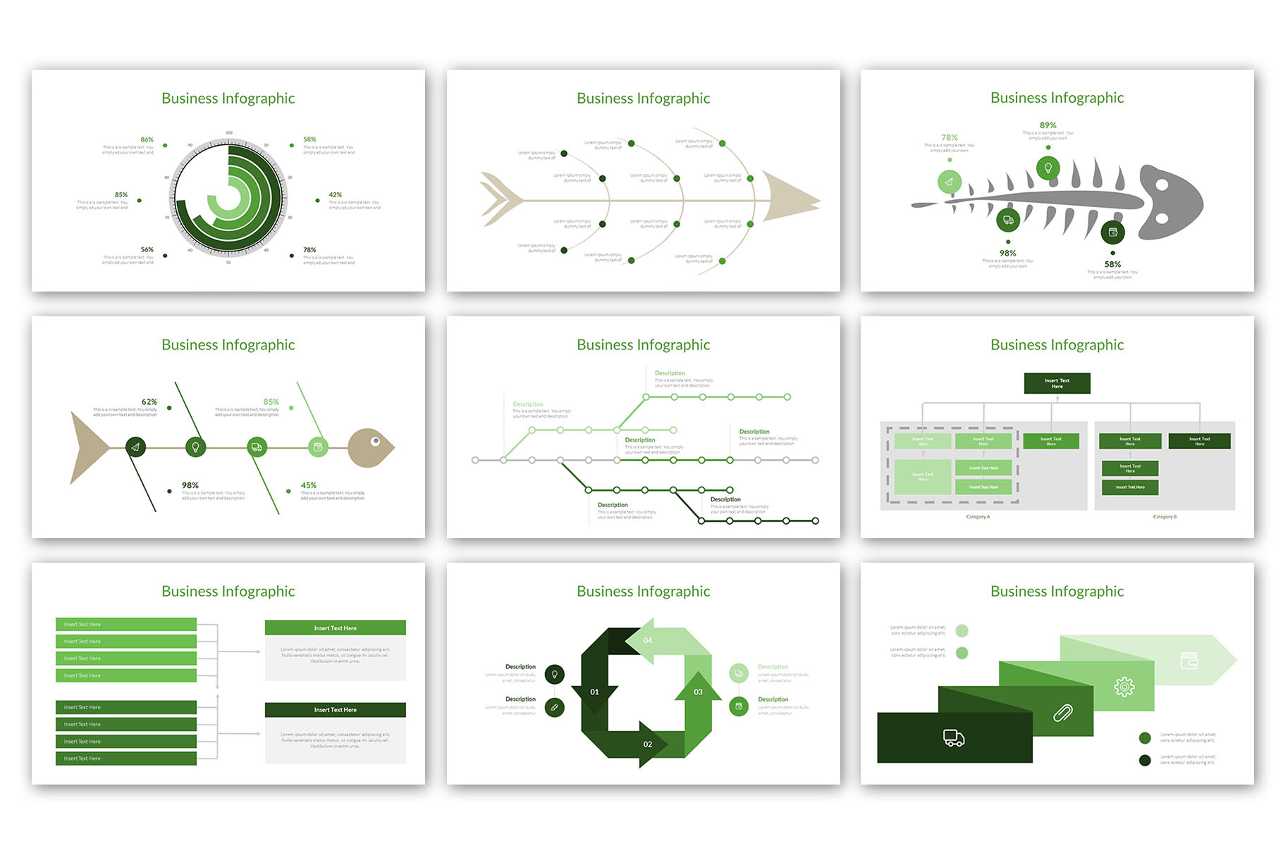 Modern Business Presentation Template example image 12