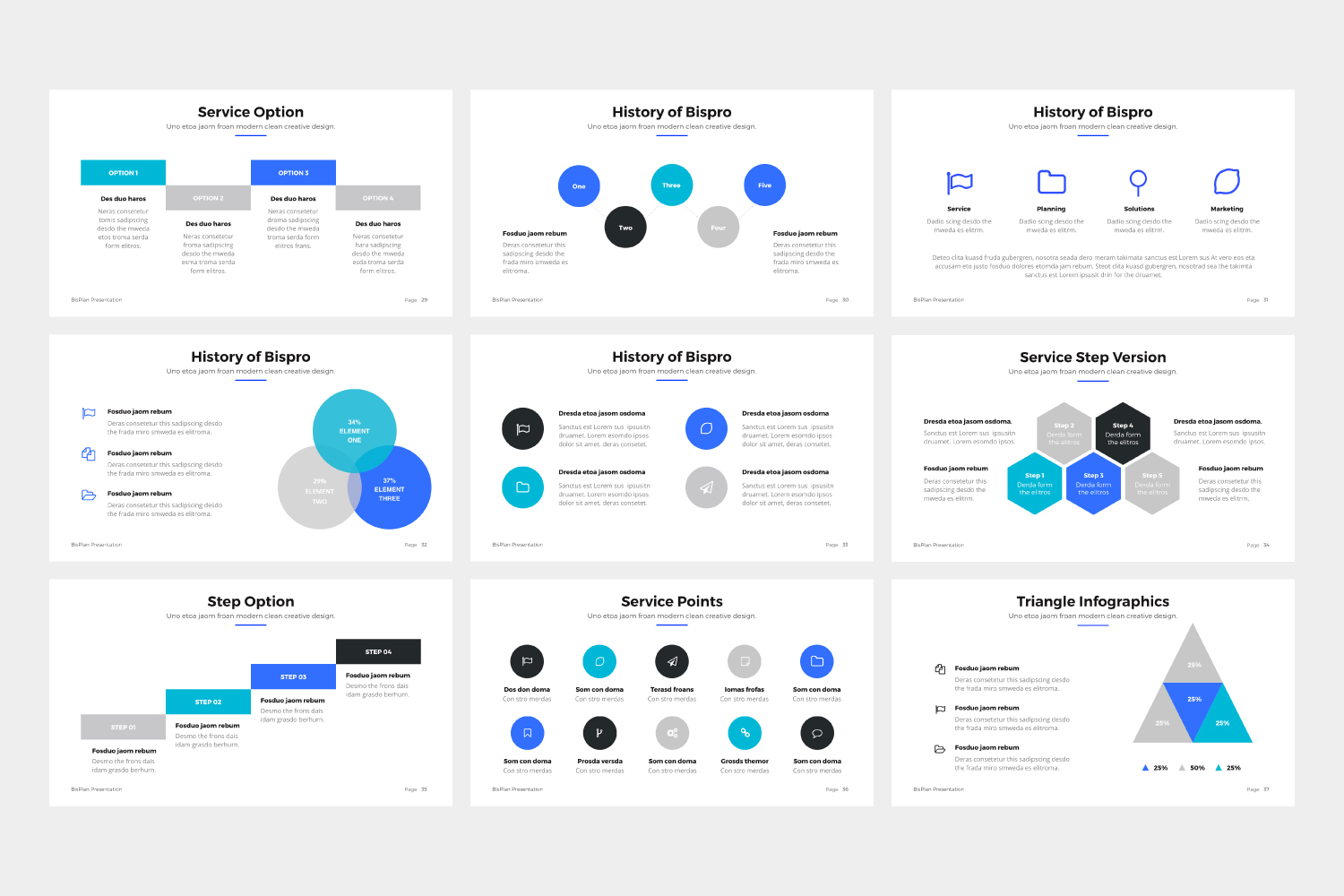 BizPro | Proposal Powerpoint Template example image 4
