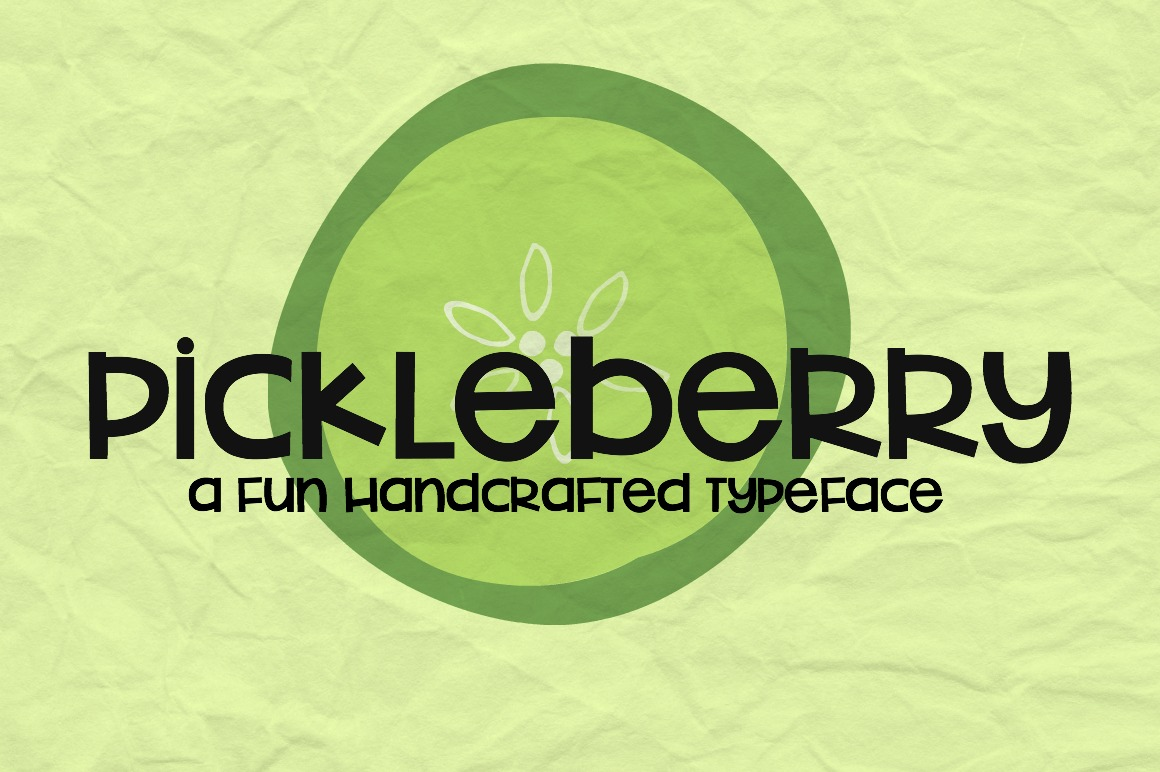 Pickleberry Font example image 2