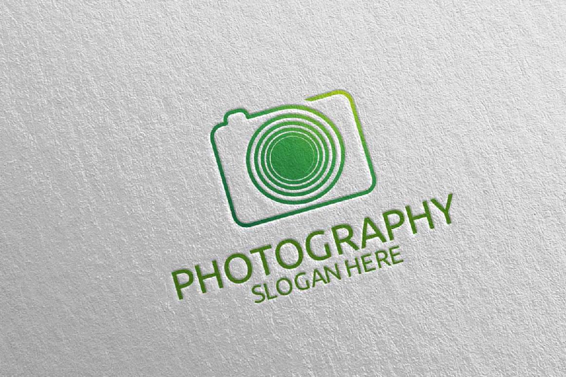 Abstract Camera Photography Logo 10 example image 3