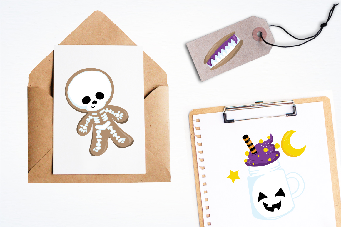 Trick or treat graphic and illustrations example image 3