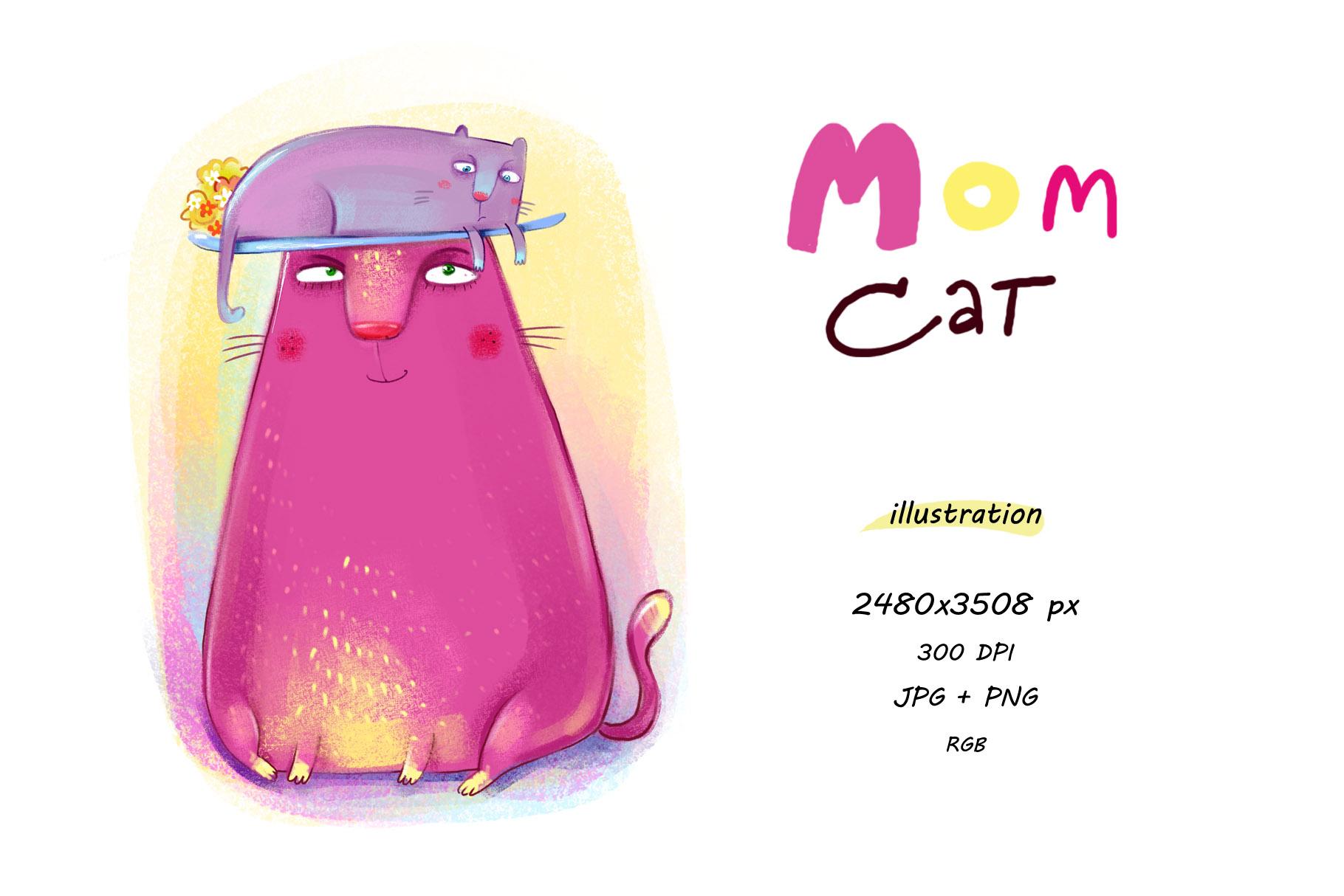 Mom Cat example image 1
