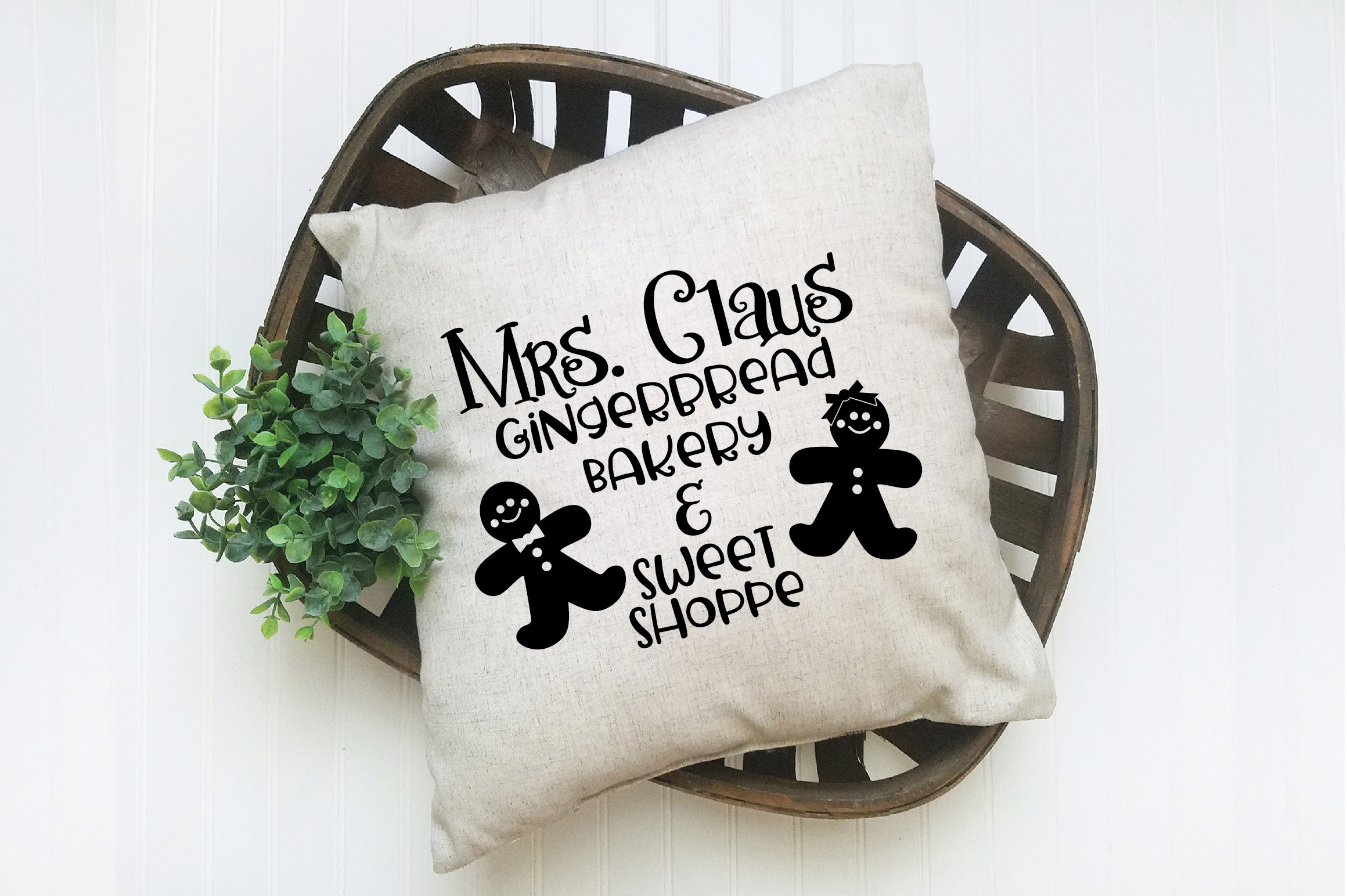 Christmas SVG Cut File - Gingerbread Bakery SVG DXF PNG EPS example image 7