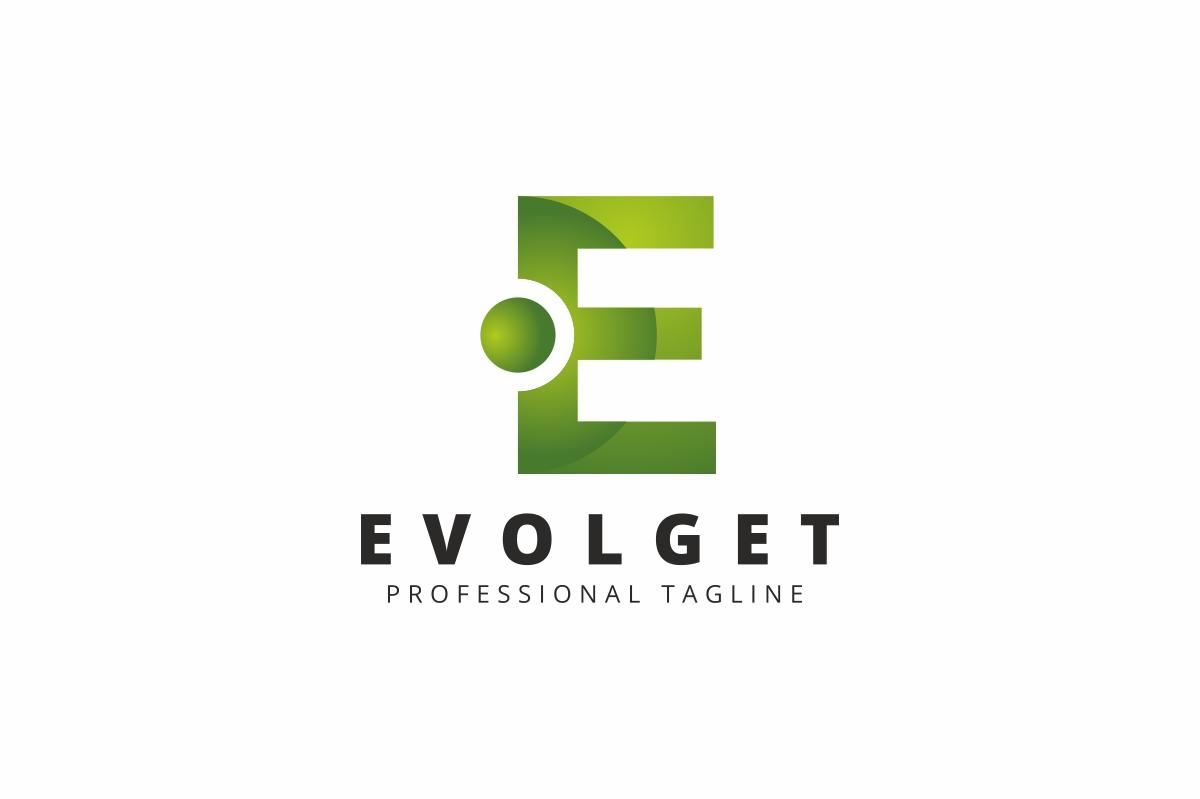 Evolget E Letter Logo example image 1