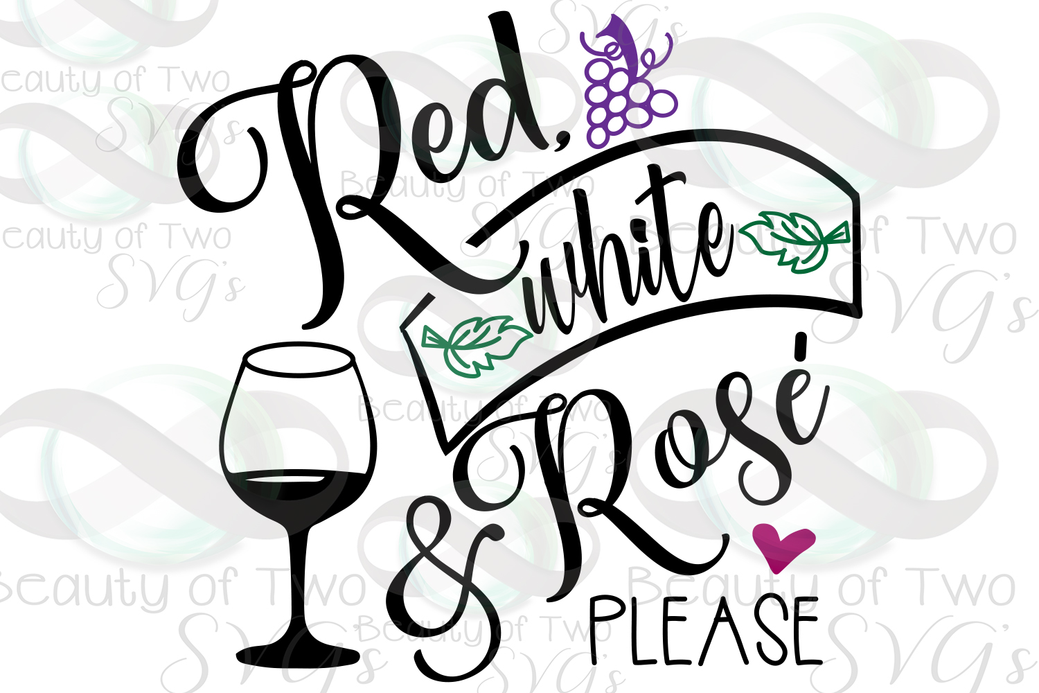 Wine svg, Wine lover svg, Red white and rose please svg example image 2