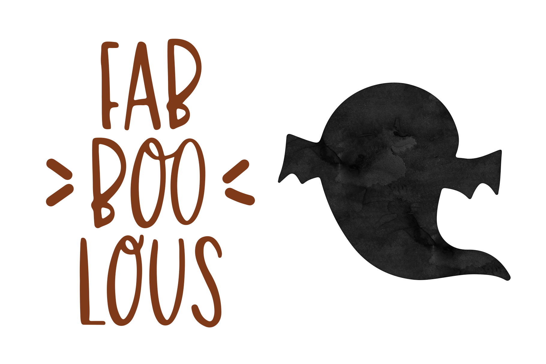 Halloween Moon - A Halloween Font with Extras! example image 6