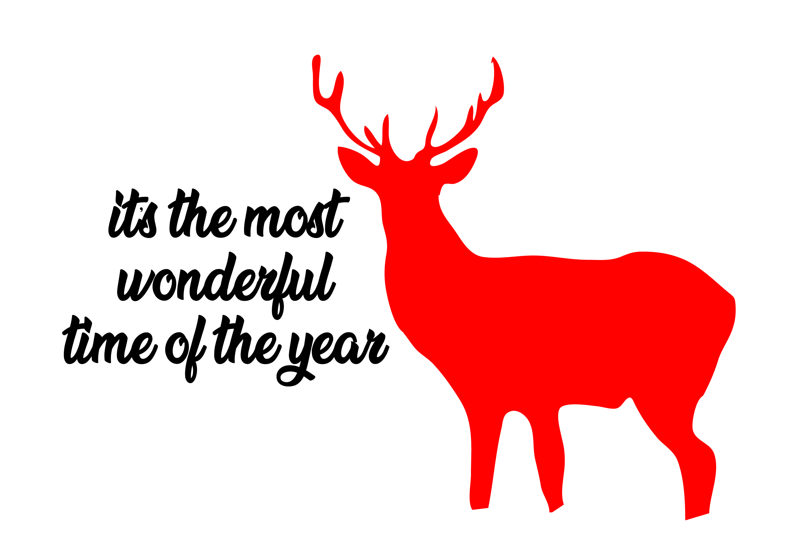 Wonderful time of the year - SVG Bundle 16 Designs example image 7