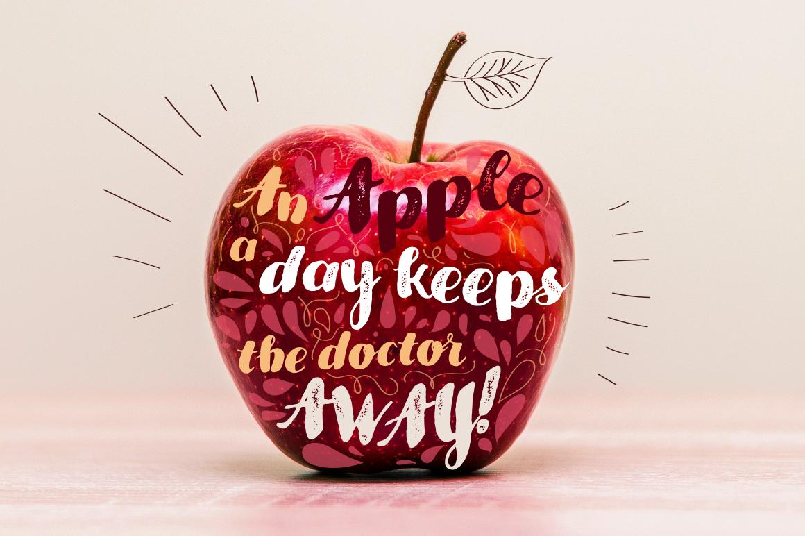 Apple & Apple Rough example image 6