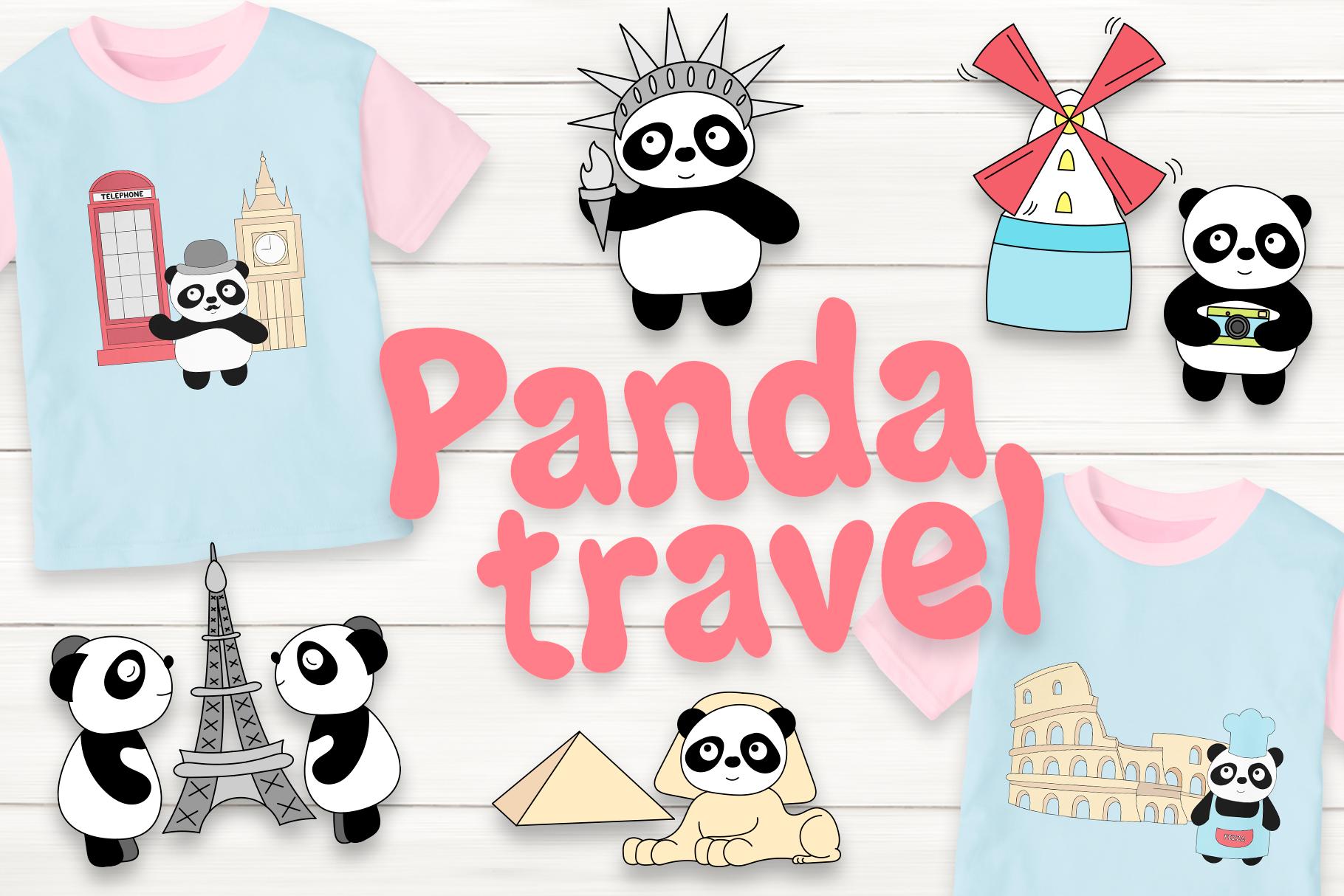 Panda travel example image 1
