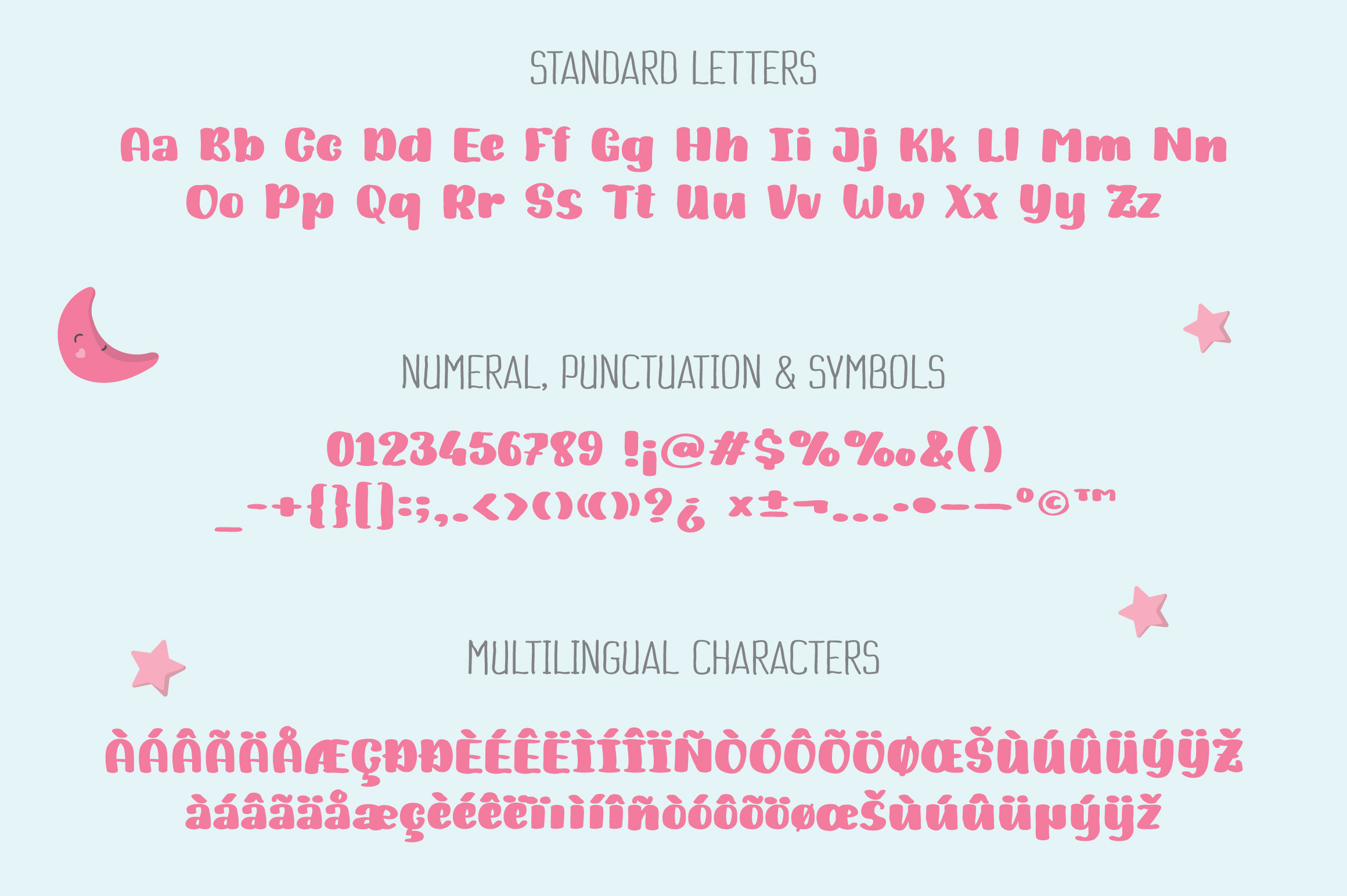 Sweet Baby | Bold Handwriting Font example image 6