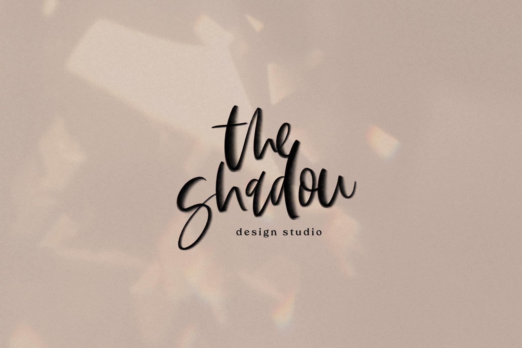 The Sunlight - A Handwritten SVG Script Font example image 12