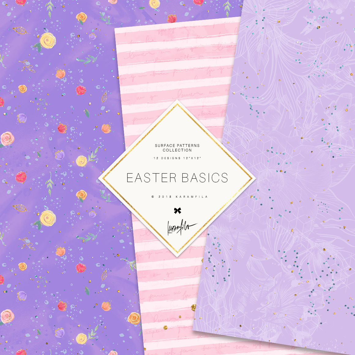 Easter Patterns example image 4