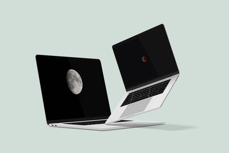 Macbook Pro Mock-Ups example image 5