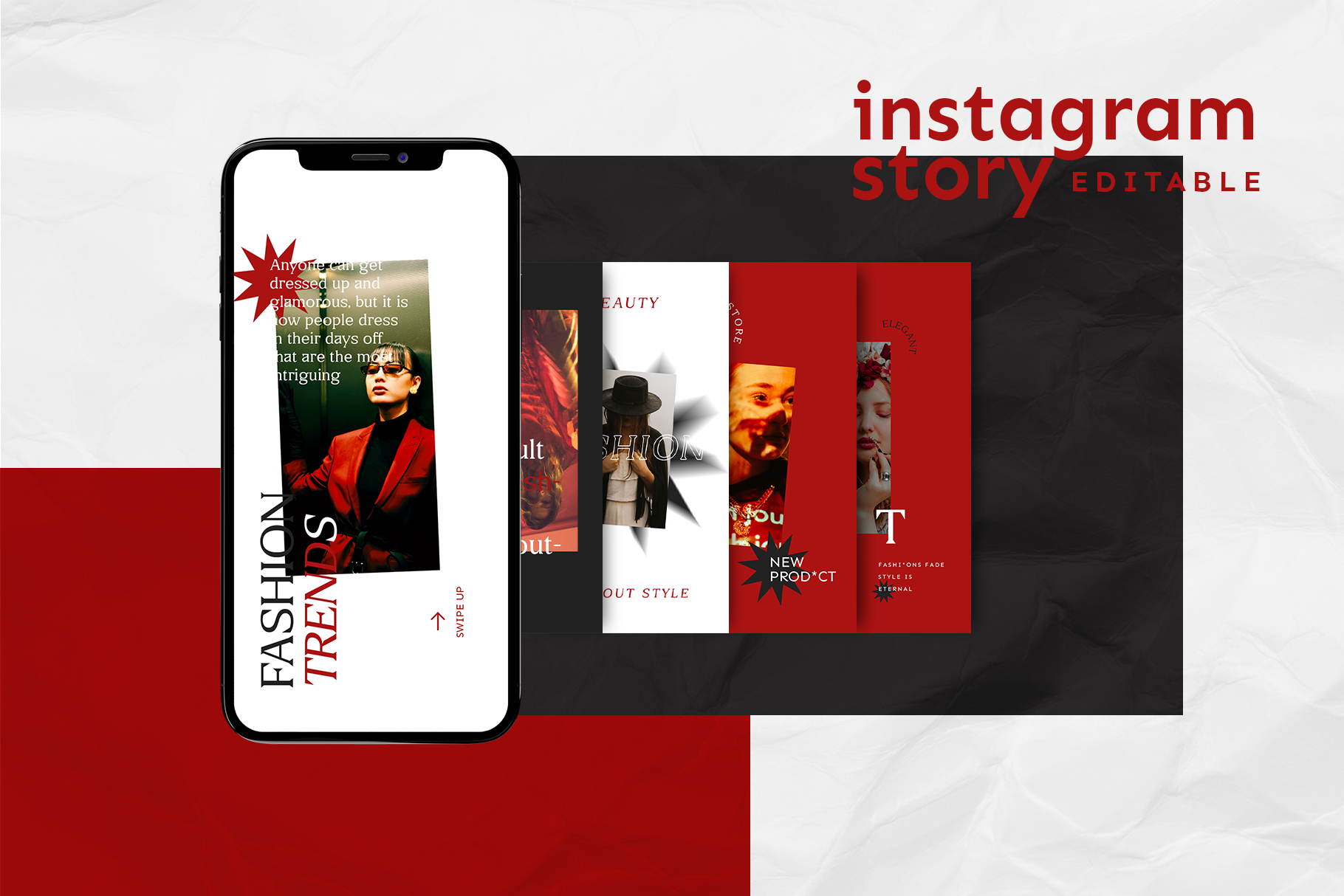 Instagram Story Template example image 2
