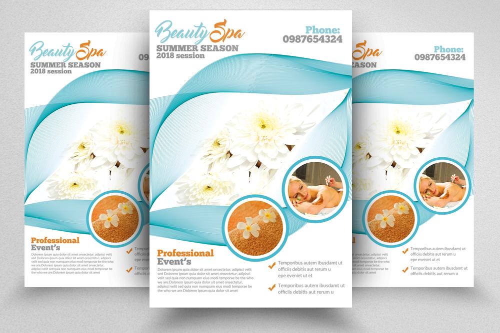 10 Spa & Skin Care Centre Flyer Bundle example image 5