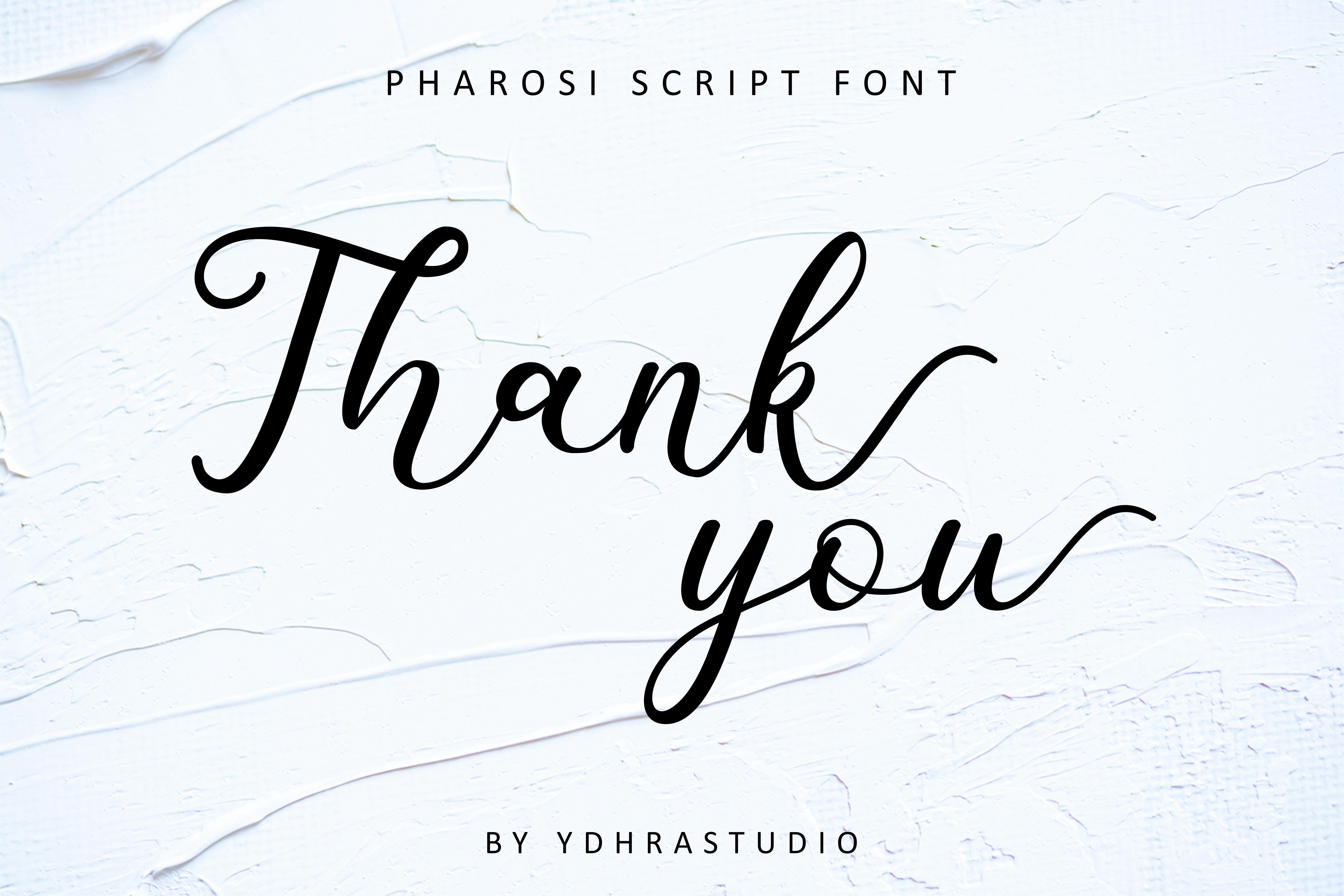 Pharosi Font example image 7
