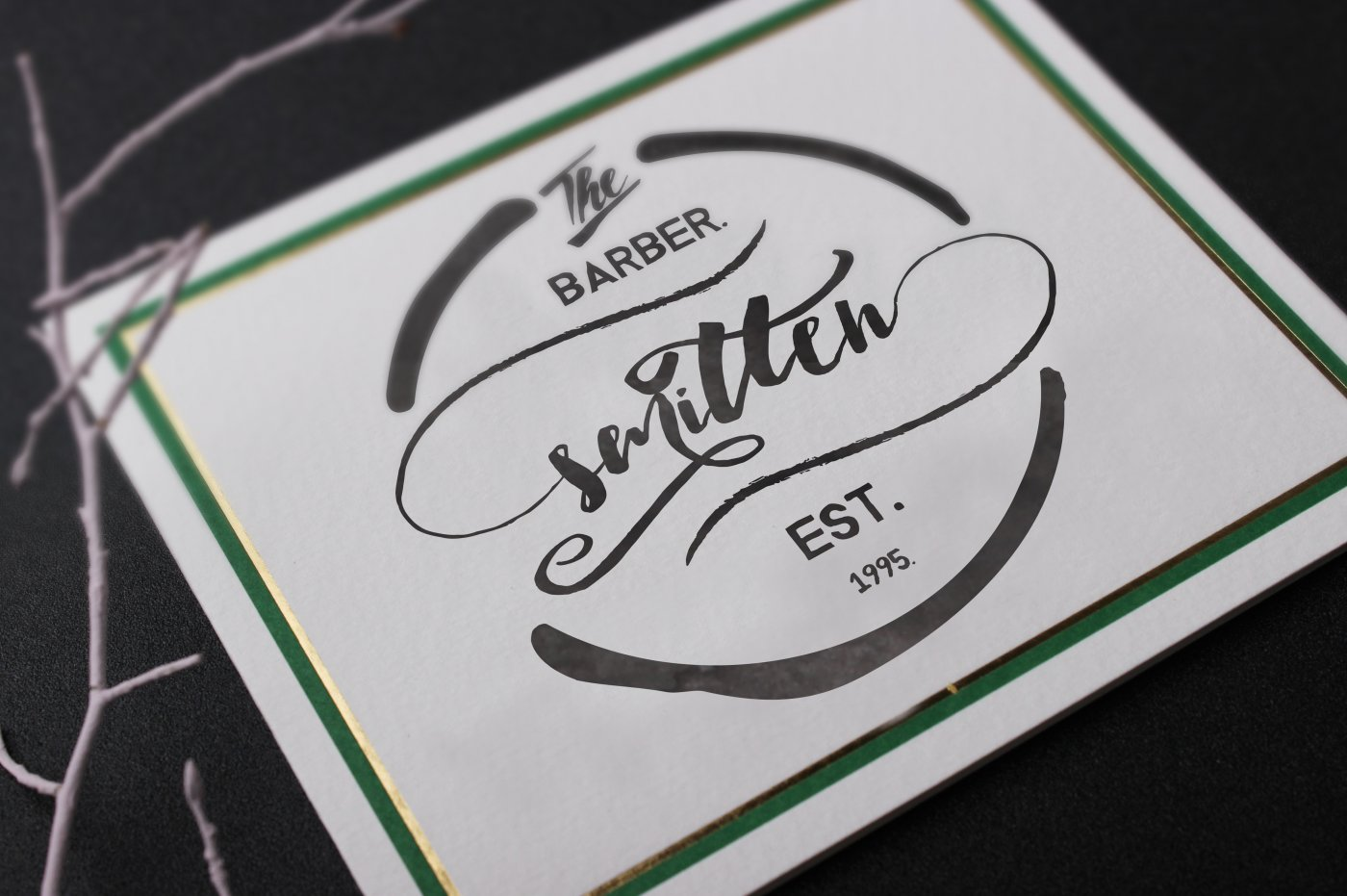 Botanic Swashes Font & Extras example image 4