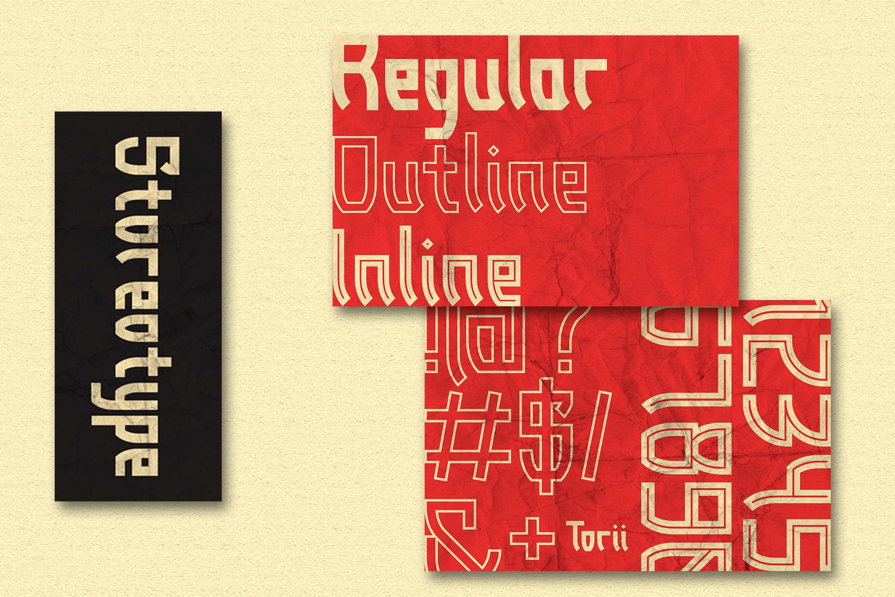 Torii - Japanese Style Typeface example image 3