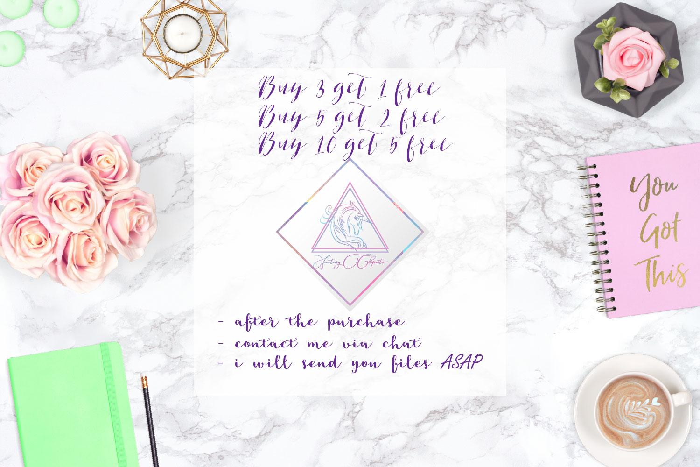 Glitter Diamonds Clipart example image 5
