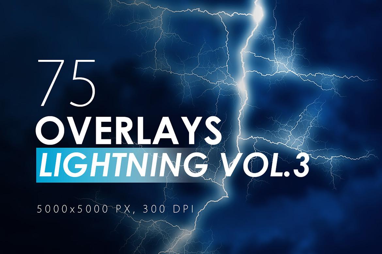 100 Lightning Overlays Vol. 3 example image 1