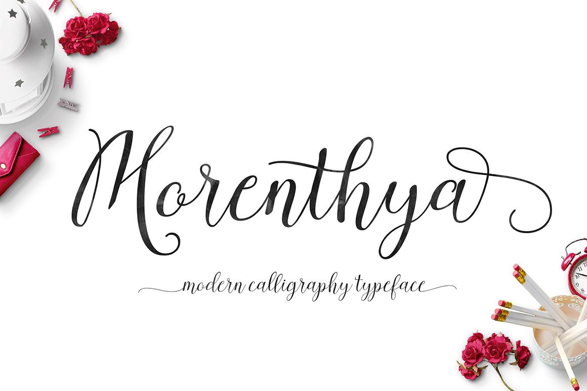 Morenthya Script example image 1
