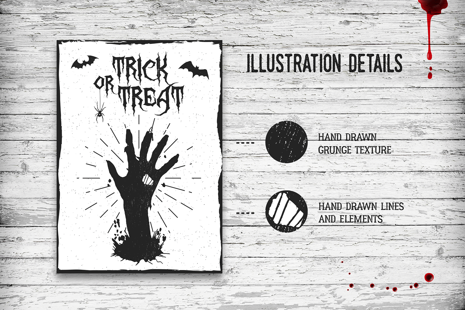 Halloween. 20 Greeting Cards example image 2