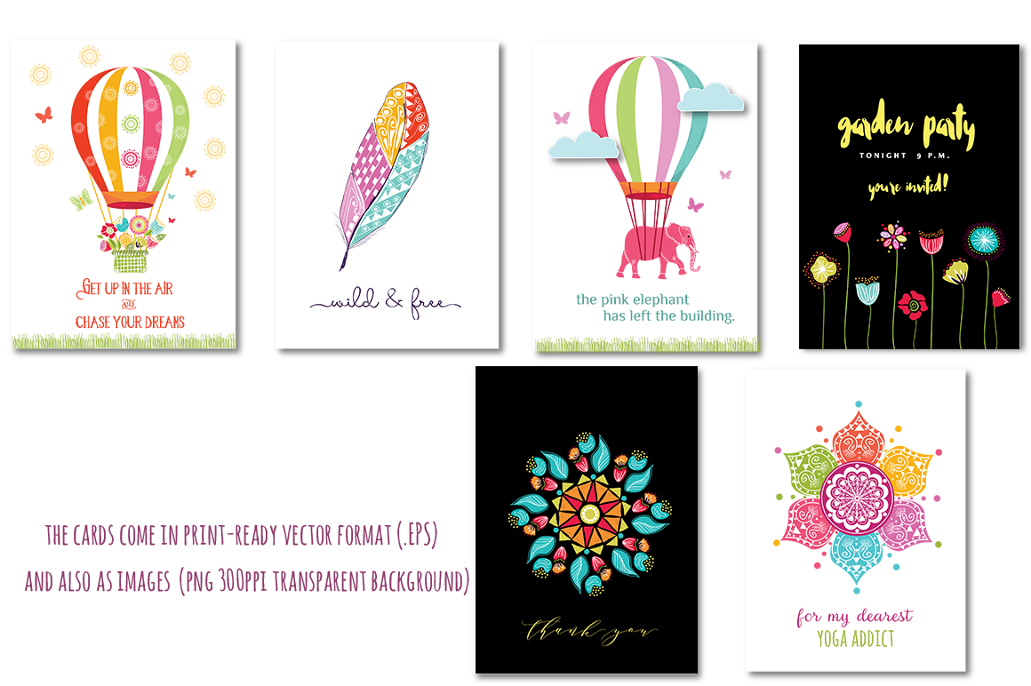 Playful Summer Colorful Bohemian example image 14
