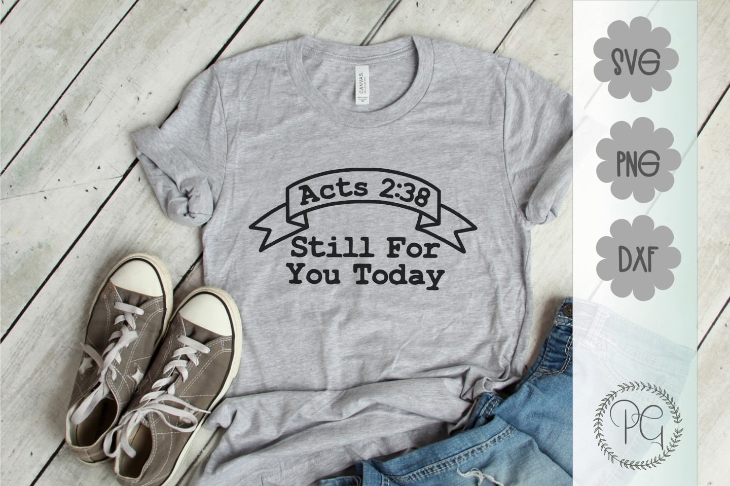 Acts 238 Still For You Today SVG DXF PNG example image 1