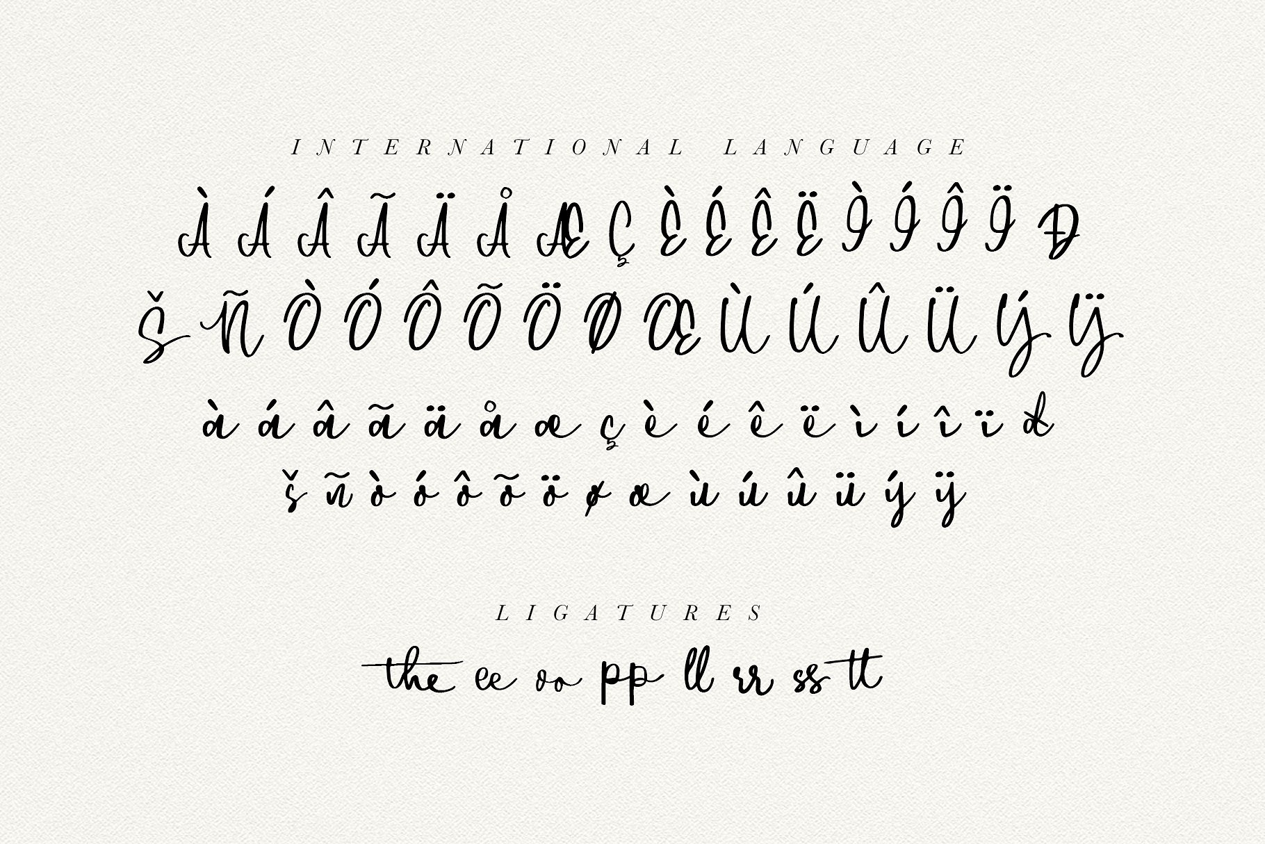Downtown - Handwriting Script Font example image 10