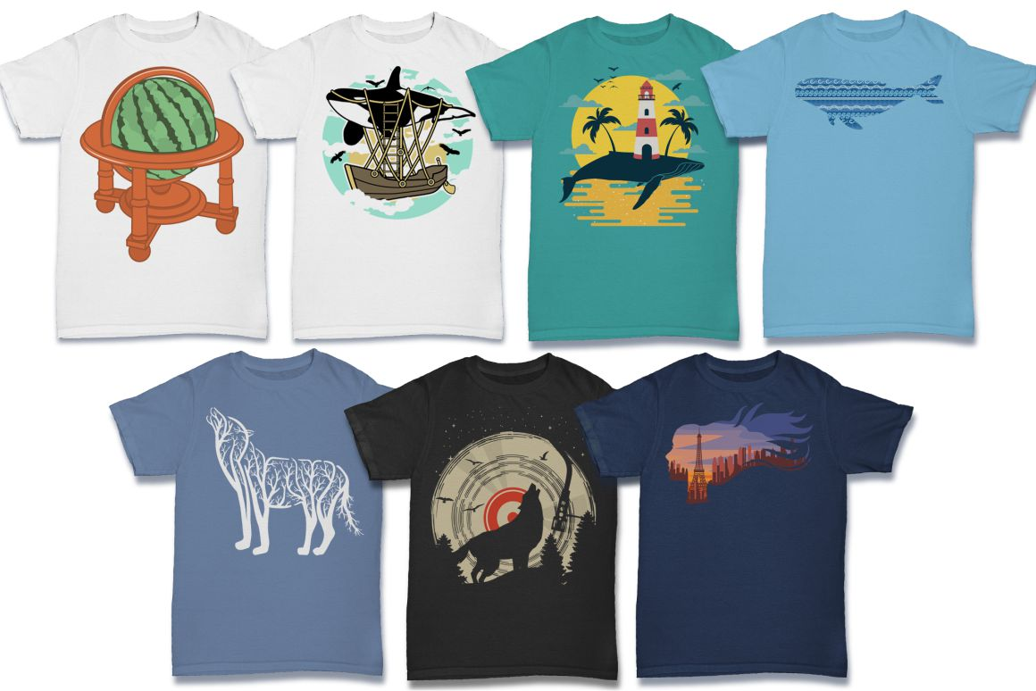 103 Tshirt Designs Mega Bundle example image 14