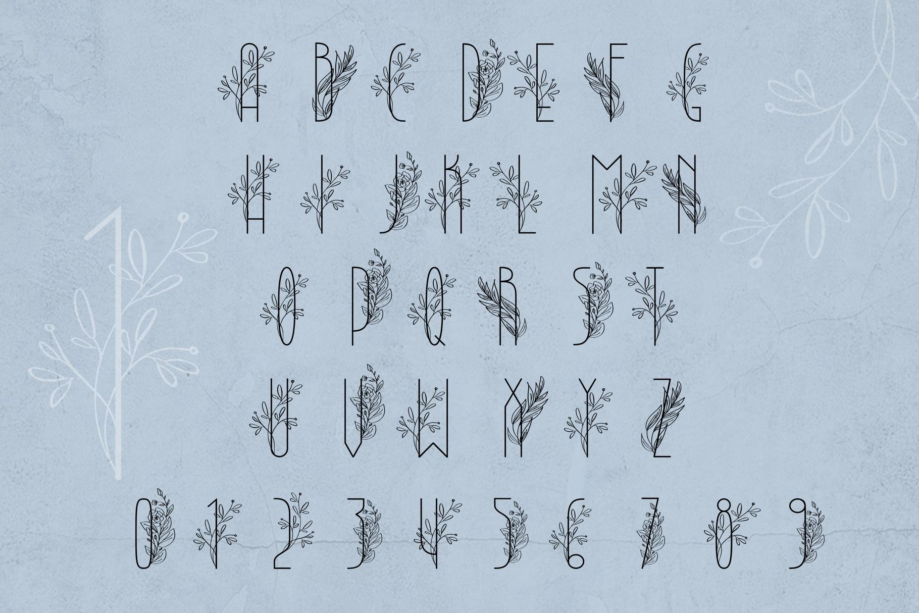 Lightbon Modern Font example image 7