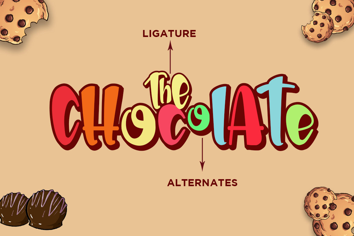The Chocolate // New Fresh Updated example image 5