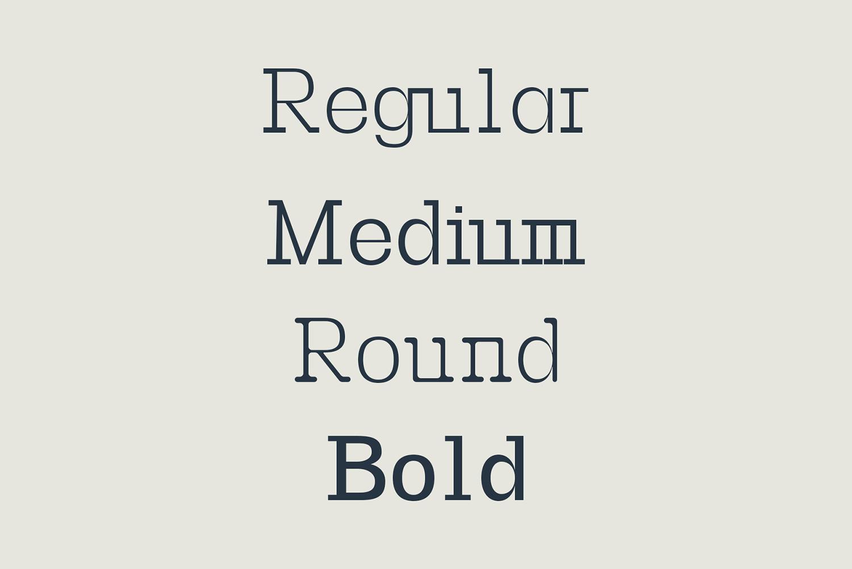 Basel Slab Serif Font Family example image 7