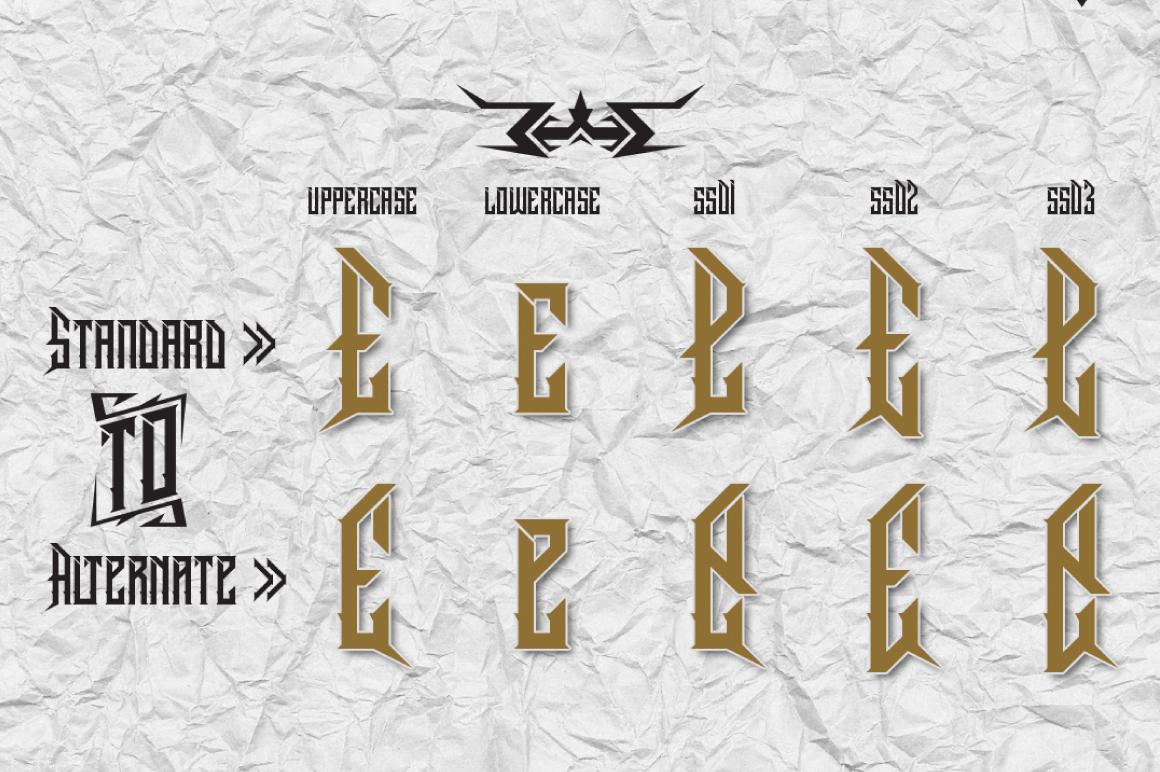 Dramaga Typeface example image 3