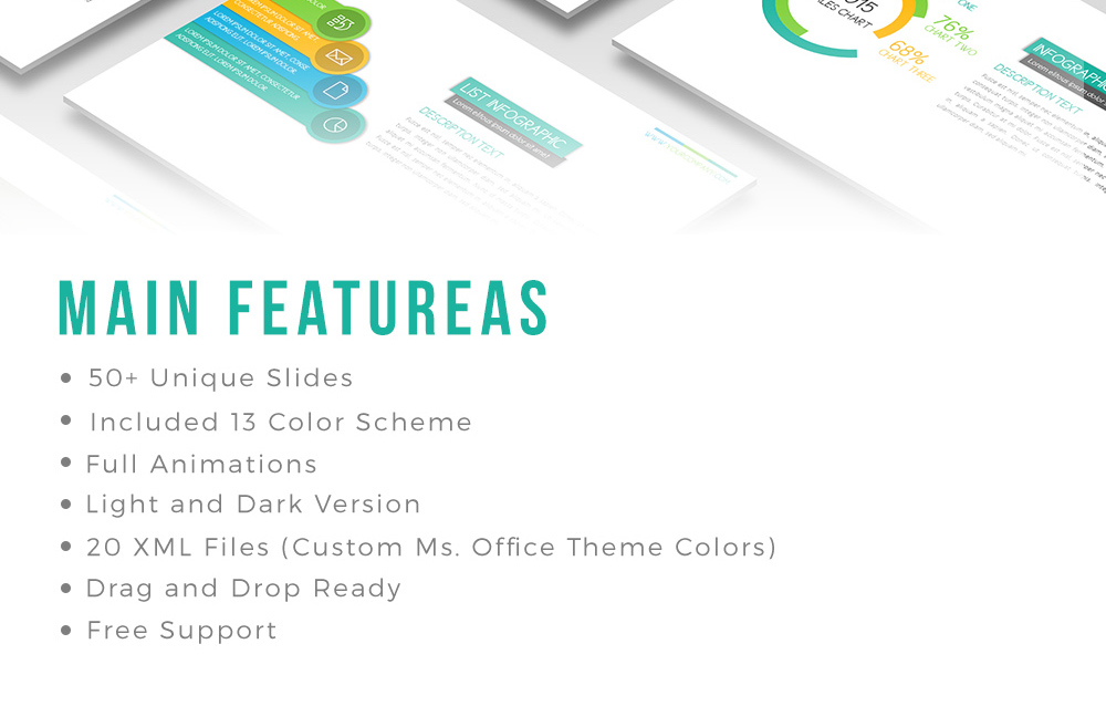 Peppy Powerpoint Template example image 2