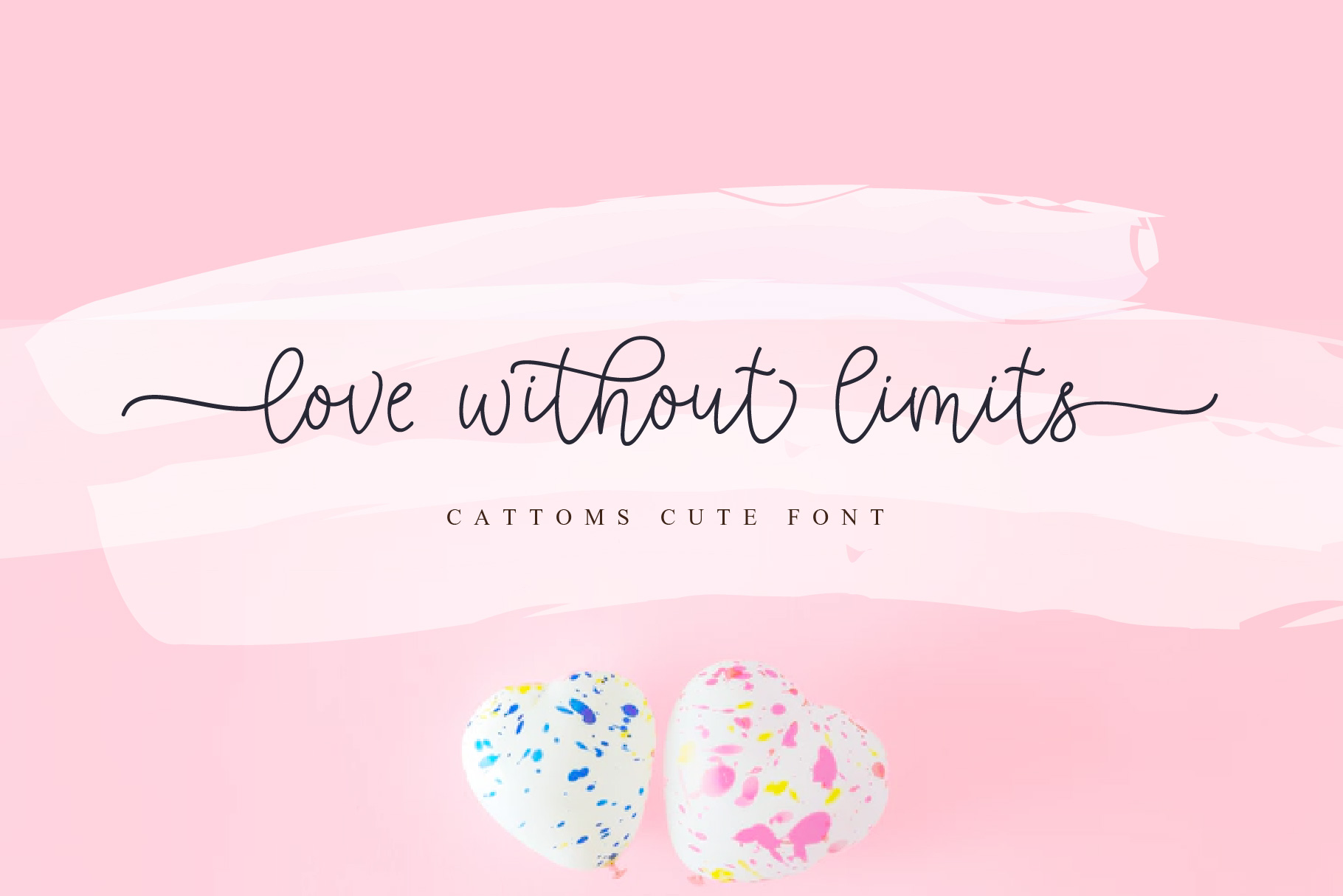 Cattoms Cute Script Fonts example image 2