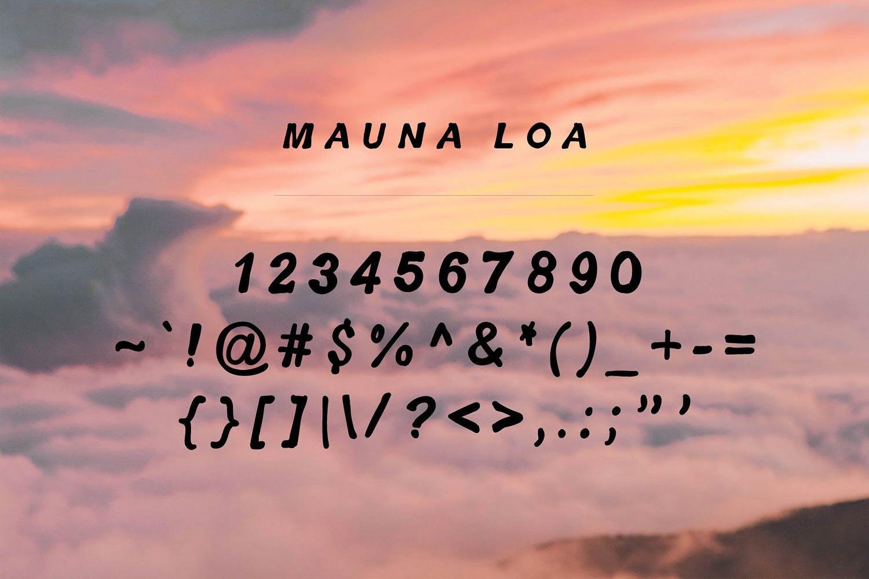 Mauna Loa | Vintage Hawaiian Font example image 3