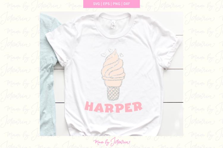 Ice cream svg, summer svg, summer svg files, summer svg kids example image 1