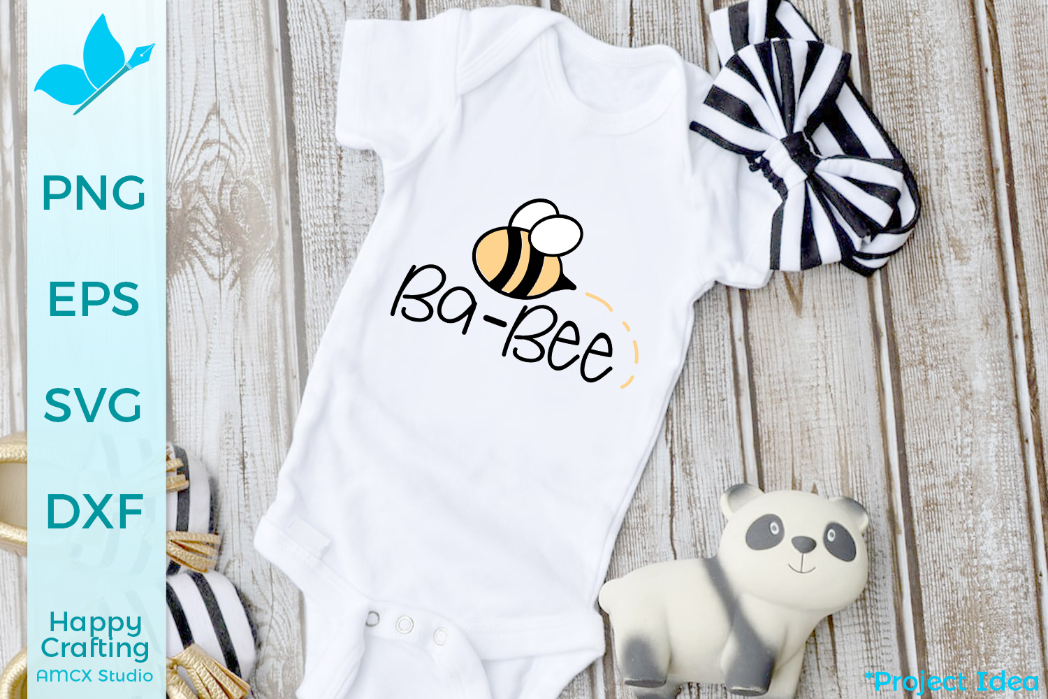 Baby Bee - A Cute Baby Craft File example image 1