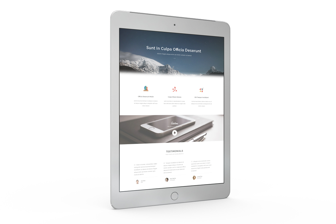Tablet Mockup example image 7