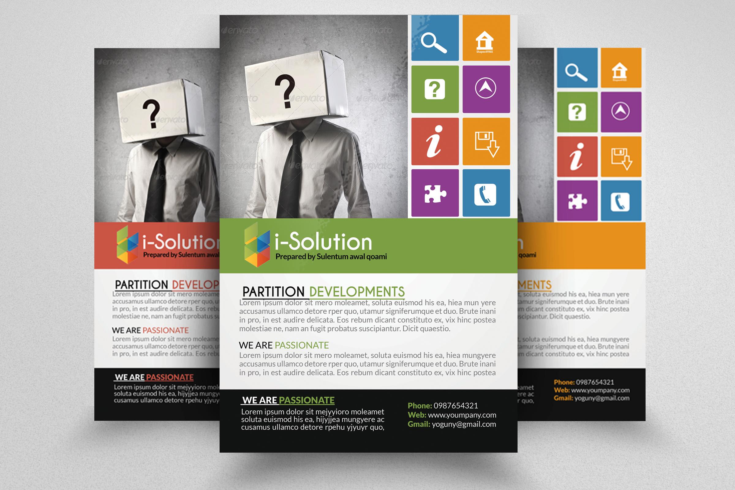 7 Corporate Business Flyers Bundle example image 5