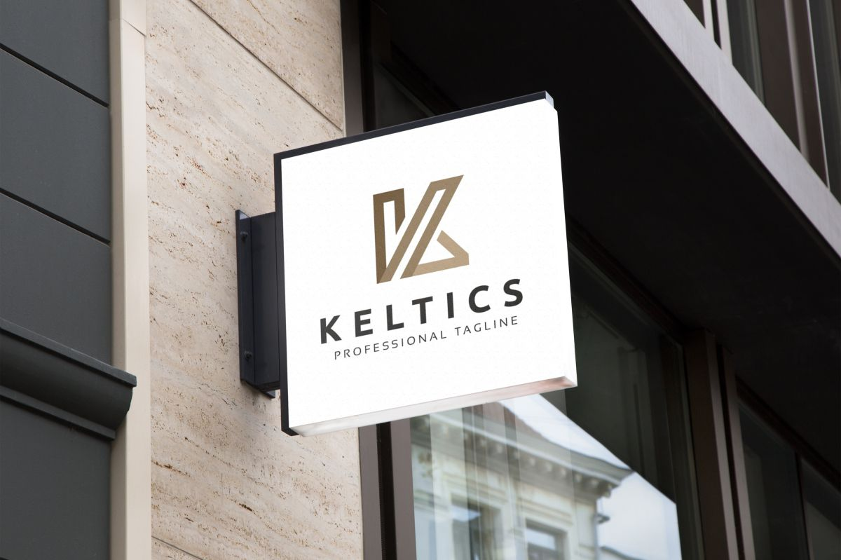 K Logo Monogram Letter example image 3