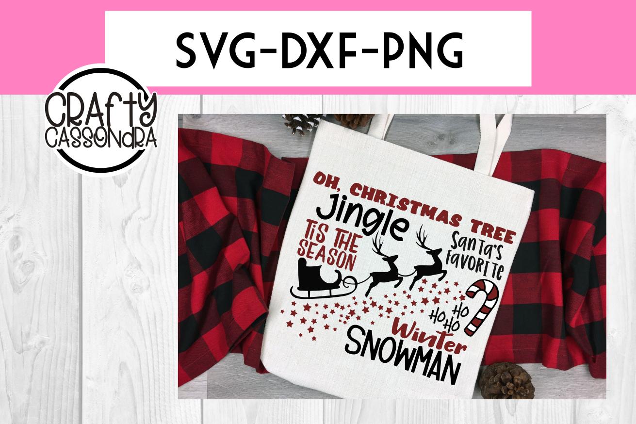 Christmas svg - Christmas sign ideas - sleigh svg - Holiday example image 1