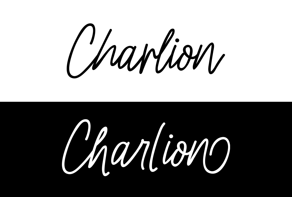 Charlion Script 2 Style example image 6